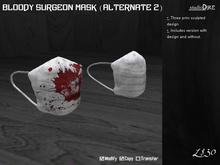 /studioDire/ Bloody Surgeon Mask (Alternate 2)