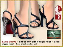 Bliensen + MaiTai - Lucy Leave - shoes for Slink High - Blue