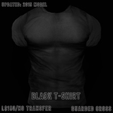 * Guarded Cross * Black T-Shirt