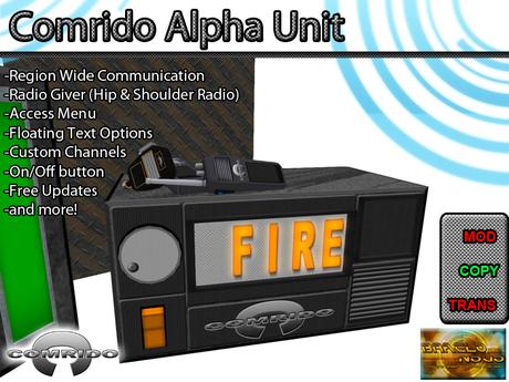 Comrido Alpha Unit - Radio System