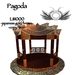 Pagoda - Japanese gold & brown *50% price reduction*
