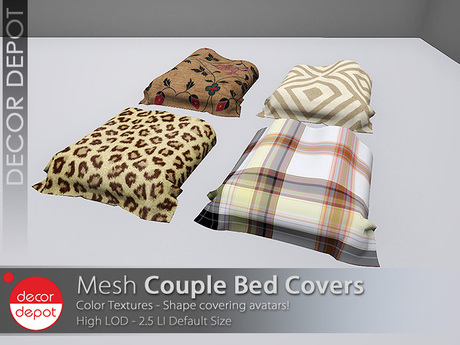 [DD] - FULL PERM  Couple Bed Covers