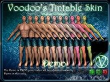 * Demo * Free * Voodoo's Tintable Skin (Male - Medium Complexion - Plain)