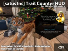 [satus Inc] Trait Counter HUD for KittyCatS