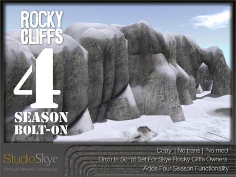 Skye Rocky Cliffs 4 SEASON Bolt-On Set [scripts only]