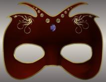 Carnival Mask ver. 1 - Red