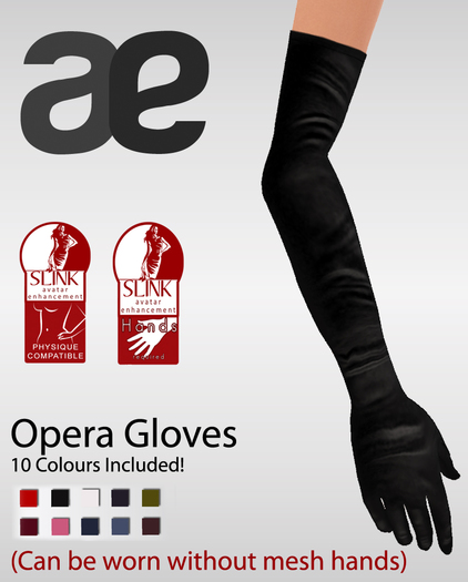 :AE: Appliers for SLINK Hands Opera Gloves