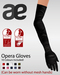 Ad for slink opera gloves physiqe