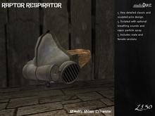 /studioDire/ Raptor Respirator