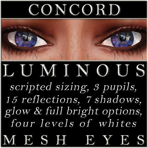 Mayfly - Luminous - Mesh Eyes (Concord)