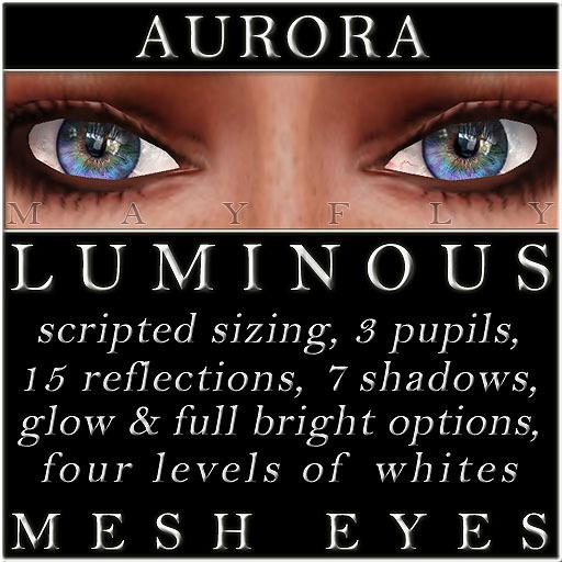 Mayfly - Luminous - Mesh Eyes (Aurora)