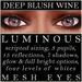 Mayfly   luminous   mesh eyes %28deep blush wine%29