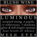Mayfly   luminous   mesh eyes %28blush wine%29