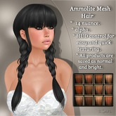 !SOUL - HAIR Mesh- Ammolite - 12 Nuances -  Ginger Set 1