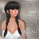 !SOUL - HAIR Mesh - Ammolite - BUY ALL - 7 Colors- 86 Nuances