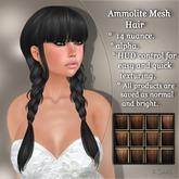 !SOUL - HAIR Mesh - Ammolite - 12 Nuances -  Browns Set 1