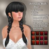 !SOUL - HAIR Mesh - Ammolite - 12 Nuances -  Red Set 1
