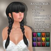 !SOUL - HAIR Mesh - Ammolite - 12 Nuances -  Colors Set 1