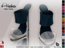 %50 PROMO Bens Boutique - Aisha High Heels (FATPACK) - (Slink High)