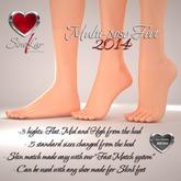 Similar Multi-pose Feet (Slink compatible)