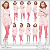 *EverGlow* - Comfy poses