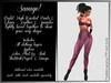 Savage! Sexy Bodysuit with Gloves - Pink (Lolas, PhatAzz, TMP, Slink, Omega)