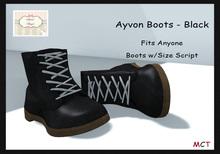 [S][A] Ayvon Boots - Black