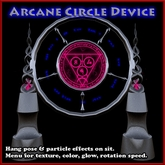 Arcane Circle Device (Arcane Circles, Ritual Circle, Rune Circle, Magic)