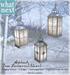 {what next) 'Silver' Alpbach Tree Lanterns