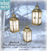 {what next) 'Gold' Alpbach Tree Lanterns