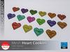 [DD] - FULL PERM  Heart Cookie