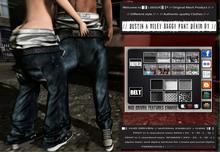 █║▌LOOSER ║▌║® // Dustin & Miley Baggy Pant DENIM 01 BASIC EDITION // HUD MESH // MATERIAL ENABLED & SHINE