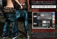 █║▌LOOSER ║▌║® // Dustin & Miley Baggy Pant DENIM 02 BASIC EDITION // HUD MESH // MATERIAL ENABLED & SHINE