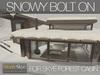 Skye forest cabin snowy 4