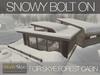 Skye forest cabin snowy 8