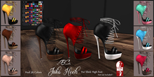 %.:EC:. Package Julia Heels - For Slink High Feet (wear me)