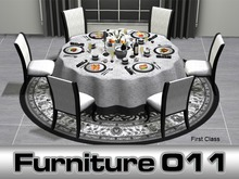Dinner party table, Dining room set Grace