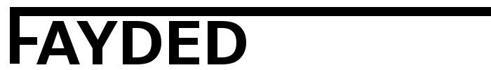 Fayded logo