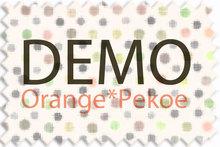 Orange*Pekoe - Shool mary janes for Slink - Orange (DEMO)