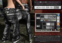 █║▌LOOSER ║▌║® // Dustin & Miley Baggy Pant GREY BASIC EDITION // HUD MESH // MATERIAL ENABLED & SHINE