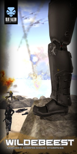 """=BFI// """"WILDEBEEST"""" Amored Compression Stompers BOX (PRICE DROP)"""