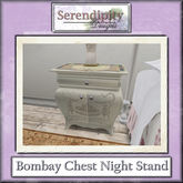 Serendipity Designs - Ashley Bombay Chest Night Stand