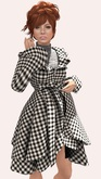 .OX Apparel. Winter Coat - Houndstooth