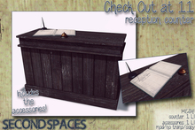 Second Spaces - Check Out at 11 - reception counter (bxd1)