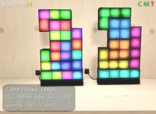 ColorBlocks lamps - 2LI mesh *old item discount*