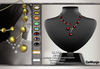 Olivia mesh necklace