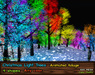 21strom Animated Christmas Light Trees