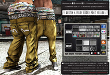 █║▌LOOSER ║▌║® // Dustin & Miley Baggy Pant YELLOW BASIC EDITION // HUD MESH // MATERIAL ENABLED & SHINE