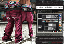 █║▌LOOSER ║▌║® // Dustin & Miley Baggy Pant PINK BASIC EDITION // HUD MESH // MATERIAL ENABLED & SHINE