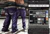 █║▌LOOSER ║▌║® // Dustin & Miley Baggy Pant VIOLET BASIC EDITION // HUD MESH // MATERIAL ENABLED & SHINE